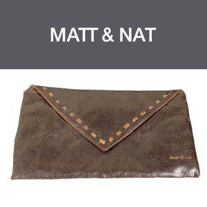 Matt & Nat Distressed Vegan Leather Clutch